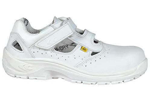 Cofra Sicherheits Sandalen Angebote 10190 000 Servius S1 ESD SRC Weiß, 10190-000