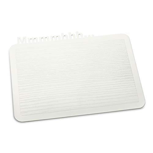 Koziol 3256525 Happy Boards Mmmmhhh Planche à Découper Plastique Blanc 17,2 x 22,7 x 0,3 cm