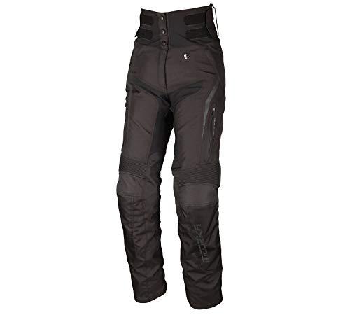 Modeka Elaya Damen Motorrad Textilhose Schwarz 42