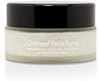 Sponsored Ad - Thann Oatmeal Face Scrub - Exfoliating Facial Scrub for Women & Men, with Organic Camellia Oil, Rice Callus...