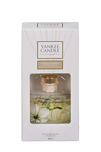 Yankee Candle Décor Reed Diffusore, Fluffy Towels
