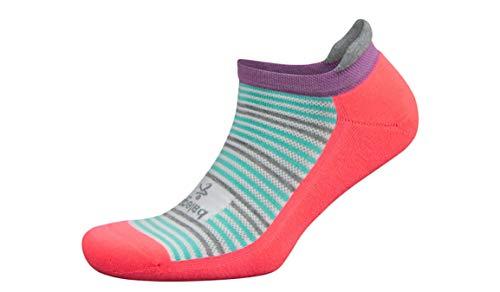 Price comparison product image Balega Hidden Comfort No Show Running Socks Sherbet Pink / White Size Small