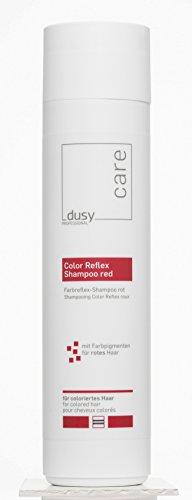 dusy professionele Color Reflex shampoo rood 250 ml verzorgende shampoo met kleurpigmenten
