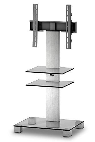 SONOROUS Home Office Serie Workstation con Tre Ante a ribalta, Legno, Nero, 72 x 15 x 116 cm