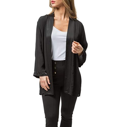 Mer's Style - Chaqueta Blazer Elegante Corta y Fina, Mujer