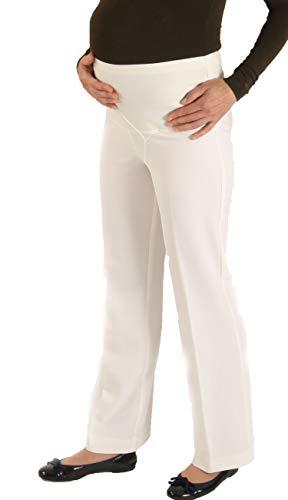 Christoff Pantalones de maternidad para mujer, elásticos, 557/33 beige 38