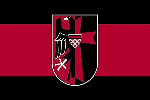 U24 Fahne Flagge Sudetenland mit Adler 60 x 90 cm