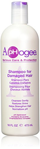 Aphogee Shampoo for Damaged Hair, 16 Fl Oz