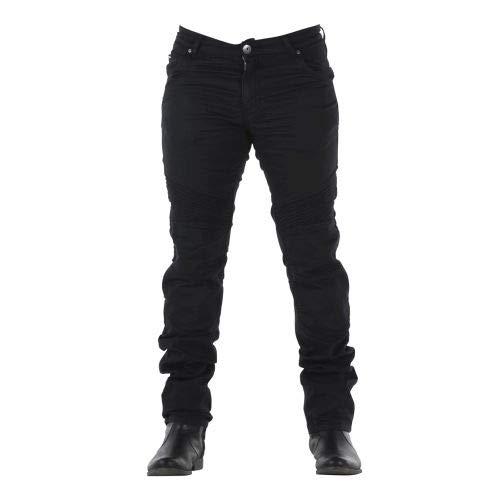 Overlap OVP-CAST-HA-BK32 - Pantalones Vaqueros para Hombre, Color Negro, Talla 32