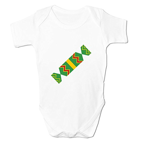 Funny Baby Grows Cute Baby Clothes for Baby Boy Baby Girl Bodysuit Vest Christmas Cracker Emoticon