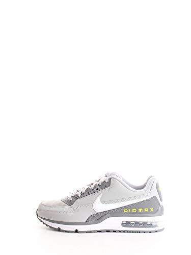 Nike Mens AIR MAX LTD 3 Running Shoe, Lt Smoke Grey/White-Smoke Grey, 42.5 EU