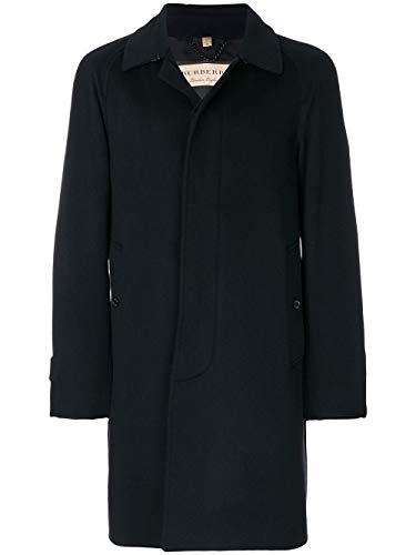 BURBERRY Luxury Fashion Herren 4056804 Schwarz Wolle Mantel | Frühling Sommer 20