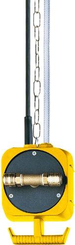 Brennenstuhl Druckluft Pendel Stromverteiler IP44 / Hängeverteiler für innen und außen (3x Schuko-Steckdosen, 2x Einhand-Druckluft-Kupplungen, Made in Germany)