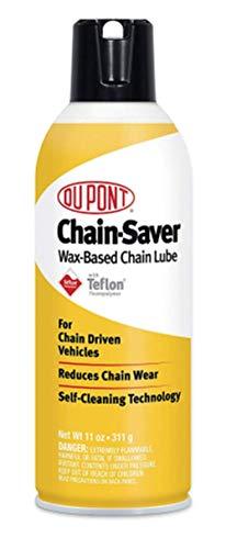 Teflon Chain Saver Lubricant 11 oz. Motorcycle Dirt Bike ATV Oil Lube Wax Dupont