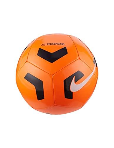 NIKE NK PTCH TRAIN-SP21 Recreational Soccer Ball, Unisex-Adult, Total Orange/Black/(White), 5