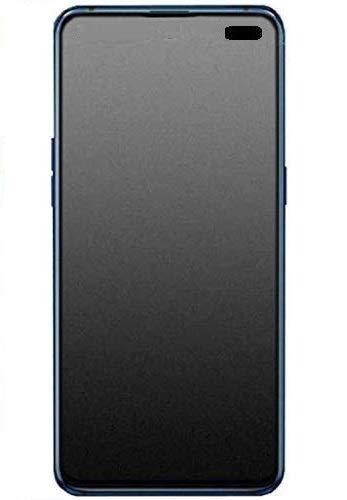 nzon design for vivo v19 tempered glass matte finish screen protector guard front side [full coverage] anti glare anti fingerprint [bubble-free] vivo v19 matt glass (Black)