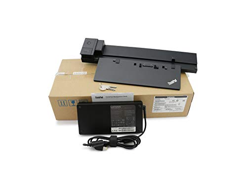 Lenovo ThinkPad Workstation Docking Station inkl. 230W Netzteil 40A50230EU ThinkPad P50 (20EQ/20EN), P51 (20HH/20HJ), P70 (20ES/20ER), P71 (20HK/20HL)
