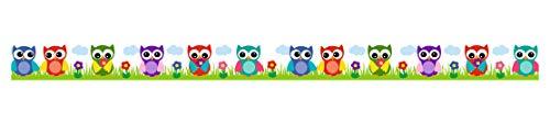 Ursus 59050060 Masking Tape env. 15 mm x 10 m Hibou Multicolore