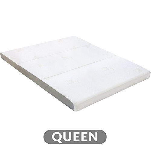 Milliard Tri Folding Mattress with Washable Cover - Queen (78 inches x 58 inches x 4 inches)