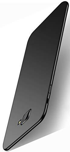 XINFENGDI Handyhüllen für Samsung Galaxy J4 Core,Hartplastik Schutzhuelle Dünn & Leicht Bumper Stossfest Bruchsicher Staubsichere Handyhülle,Hülle Against,Tasche Panzer Hülle Hardcase-Schwarz