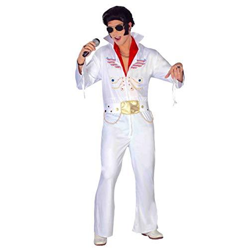Costume re del rock Elvis Presley the king taglia XL