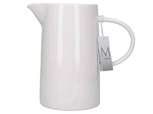 MIKASA Water vetrificata, in Porcellana, Colore: Bianco