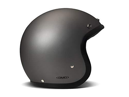 DMD - Casco de moto unisex Gris mate MEDIUM Grigio Opaco