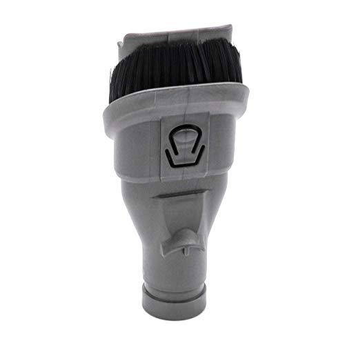 vhbw Boquilla combinada 2 en 1 cepillo para muebles pincel boquilla de juntas para aspiradoras Dyson DC59 Animal, DC62, DC62 Animal Pro, DC62 Up Top