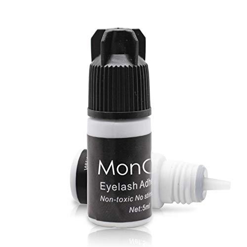niyin204 Grafting False Eyelash Glue Quick-Drying Odorless Sticky Long Lasting Planting False Eyelash Glue Semi-Permanent Eyelash Extension Glue Extra Powerful Strong Black Adhesive