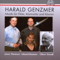 Harald Genzmer - Music for Flute, Clarinet and Piano