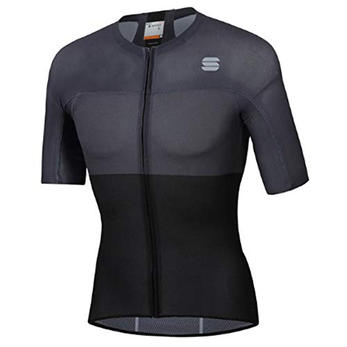 Sportful Bodyfit Pro Light Jersey - Black/Anthracite