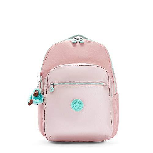 Kipling Seoul Large 15' Laptop Backpack Cotton Candy Bl