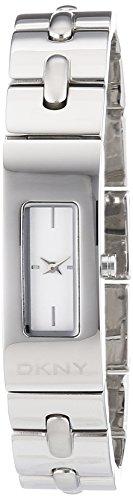 DKNY Damen Analog Quarz Uhr mit Edelstahl Armband NY2138