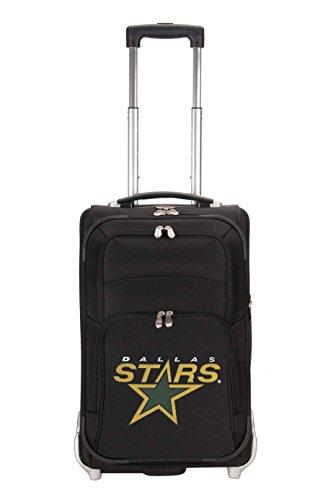 NHL Dallas Stars Denco 21-Inch Carry On Luggage, Black