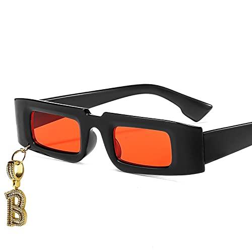 AMFG Diamante Completo Pequeña Caja De Tendencia Gafas De Sol Gafas De Sol Moda Sombrilla Silvestre Espejo De Sombrilla (Color : B, Size : M)