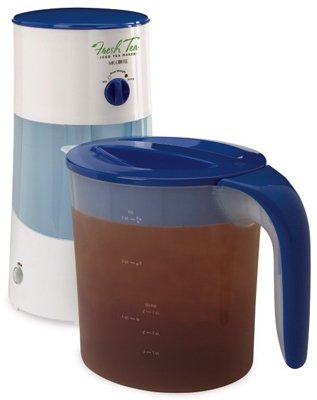 New 3QT BLUE Ice Tea Maker