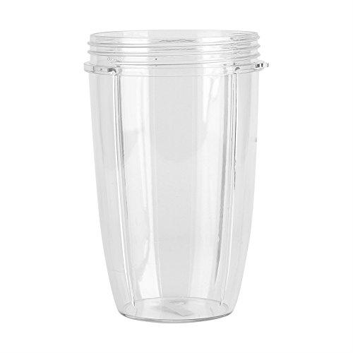 parte superior Juicer Cup Parts Taza de repuesto para NutriBullet Nutri Traje para batidoras de 900 W, mezclador de jugo de frutas y verduras 18/24/32oz (24 oz)