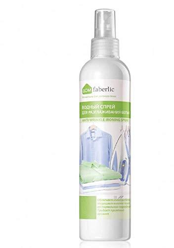 faberlic Spray Antiarrugas a Base de Agua para Ropa, no Necesita Plancha 250 ml