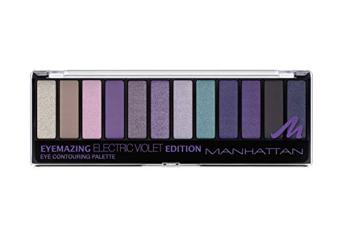 Manhattan Eyemazing Eye Contouring Palette Electric Violet Edition, 14.16 g