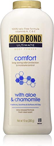Gold Bond Ultimate Comfort with Aloe Body Powder - 100% Talc-free, 10 Oz by Chattem
