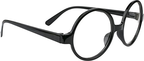 Kangaroo Costume Glasses - Wizard Glasses - Halloween Eyeglasses Black