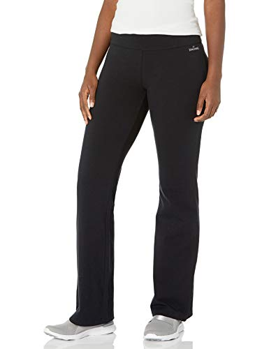 Spalding Women's Yoga Bootleg Pant, Black, Medium