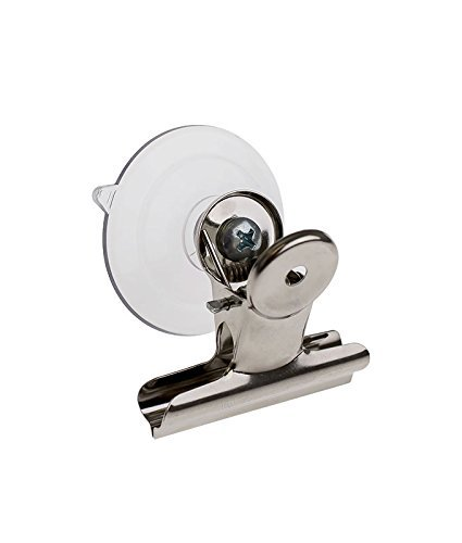 SOURCEONE.ORG Premium Large Suction Cup with Heavy Duty Clamp Perfect for Holding Signs onto Windows