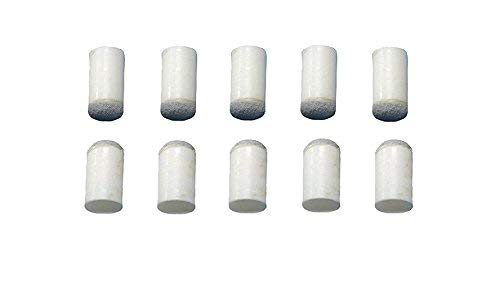 Laxmi Ganesh Billiard Slip on cue Tips 13mm for Snooker and Pool CUE (10 Piece)