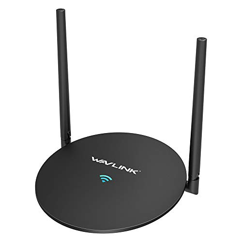 WiFi Router,Wavlink Computer Home Router 2.4G Wireless Router,High Speed Internet Router WiFi Box with High Power Amplifiers PA+LNA,2 MIMO 5dBi Antennas
