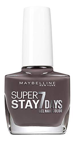 Maybelline New York Nagellack Effekt Gel, Superstay 7days, 900Huntress (Band), 3er Pack