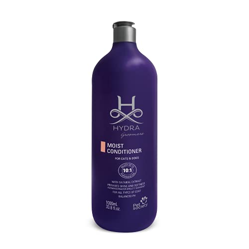 Hydra Professional Moisturizing Dog Conditioner, Oatmeal Hair Conditioner for Dogs and Cats, Suitable for All Breeds and…