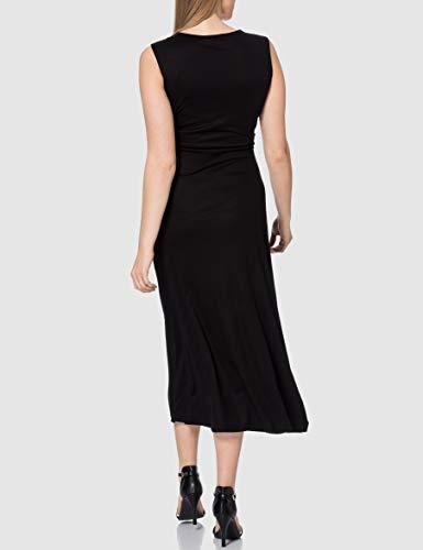 Desigual Vest_yakarta Vestido Casual, Negro, M para Mujer