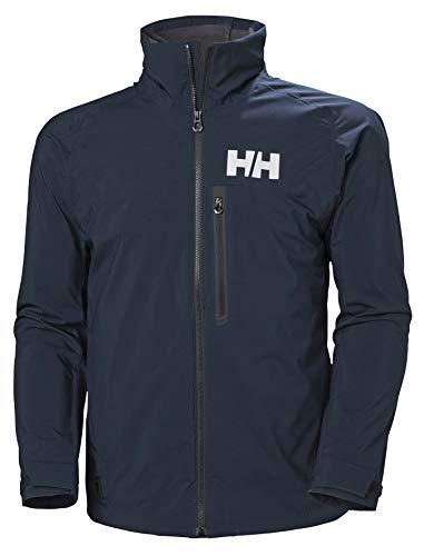 Helly Hansen Herren Hp Racing Midlayer Lifaloft Fleecekragen Wassersport Segeln wasserdichte Jacke, Navy, S