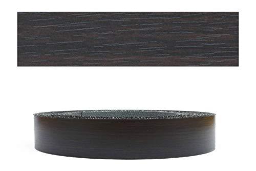Mprofi MT® (10m rolle) Melaminkantenumleimer Umleimer mit Schmelzkleber Eicher schwarz Pore 22mm 6232210